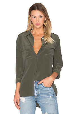 Nwt-Equipment- Slim Fit Button Down-Size Small
