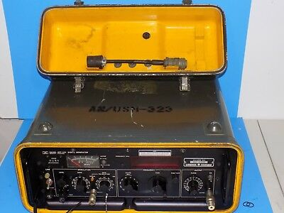 *** HP 8640B US SIGNAL CORPS ISSUED AN/USM-323 SIGNAL GENERATOR for REPAIR