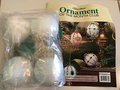 Herrschners Ornament Of The Month Beaded Christmas Kit Holiday Jewels