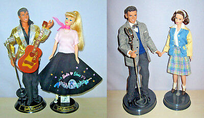 Lot of 2 Gift Sets Barbie Loves Elvis & Barbie Loves Frank Sinatra Reduced Price