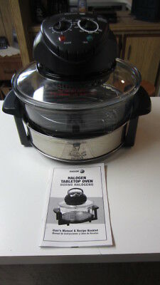 Fagor Halogen Tabletop Oven, 12 Quart Oven, EUC with Manual