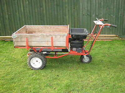 Dr Powerwagon-Motorised Self Propelled Large Wheelbarrow-Good Working Condition