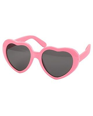 New Carter's Girl Sunglasses Pink Hearts 0-24 month NWT infant Girls 0 1 2 year