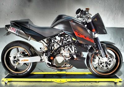 KTM super Duke 990 ,Yoshimura pipes,anodised bolts,bar end mirrors,free delivery