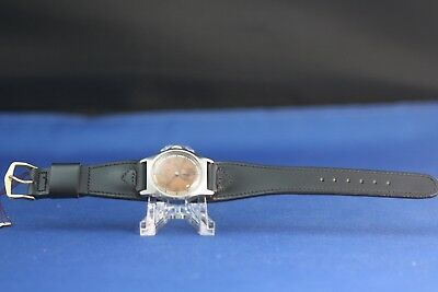 Ww2 Mido Multifort Bumper/super-Automatic.copper Dial.serviced Movement.v.rare!!