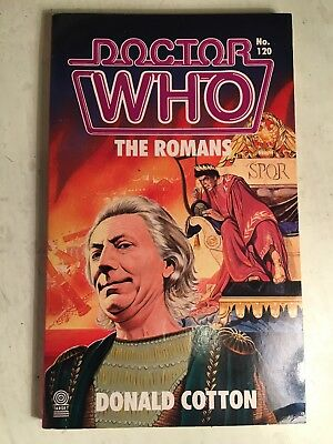 "Doctor Who ""The Romans"" by Donald Cotton Target book novel"