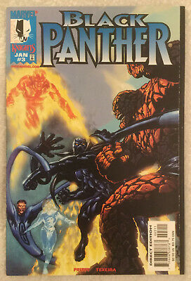 BLACK PANTHER (Vol 2) #3 by Christopher Priest & Mark Texeira - MARVEL KNIGHTS