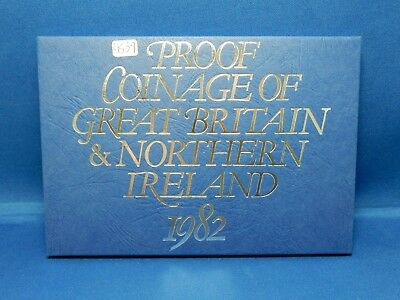 Proof Coinage of Great Britain & Northern Ireland 1982