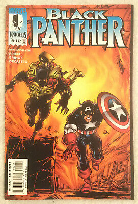 BLACK PANTHER (Vol 2) #12 by Christopher Priest & Mark Bright - MARVEL KNIGHTS