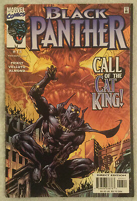 BLACK PANTHER (Vol 2) #13 by Christopher Priest & Sal Velluto - MARVEL COMICS