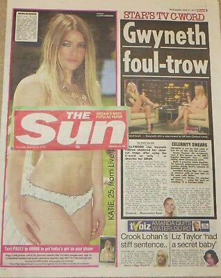 UK Page 3 pictures KATIE GREEN Newspaper cuttings Great Collection 2011-2013