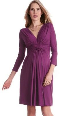 NEW Seraphine Knot Front Maternity/Nursing Dress 10 Worn by Kate Middleton in OK
