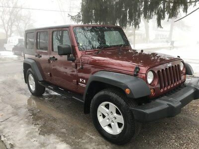 2009 Jeep Wrangler Unlimited X Right Hand Drive 2009 Right Hand Drive Jeep Wrangler Unlimited 4D 4WD