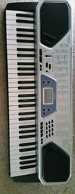 Casio keyboard with 100 song bank and 100 tones