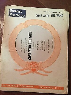 Editor's Portfolio GONE WITH THE WIND