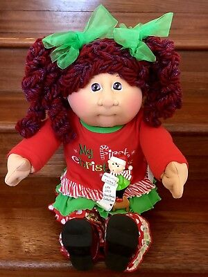 Cabbage Patch Kids Soft Sculpture Christmas In July Girl LPK Sculpt