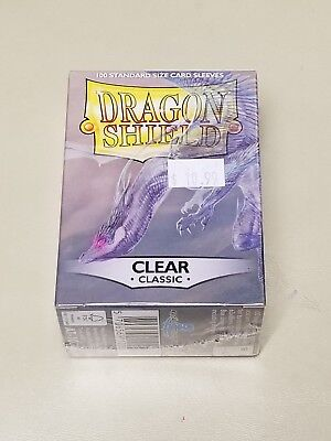Dragonshield Protective Card Sleeves 100 Sleeves per Box Clear