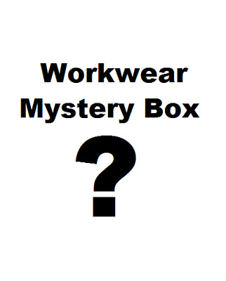 Workwear Mystery Work Clothing Box Safety Polo Jumper Boots Vest Glasses Gloves