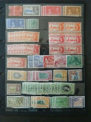 1805 St Kitts Nevis  Collection  Mint Og Nh/used 4 Photos    Cat $65+