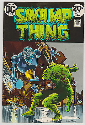 Swamp Thing #6, Near Mint Condition'