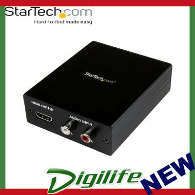 STARTECH Component / VGA Video and Audio to HDMI Converter PC to HDMI 1920x1200