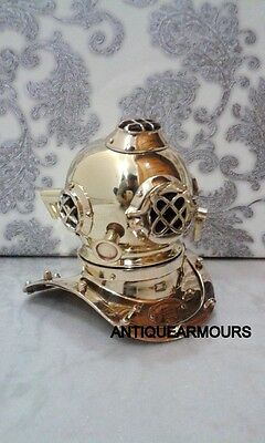 "Nautical 6"" Mini Diving Divers Helmet Collectibles Reproduction Replica Gift"