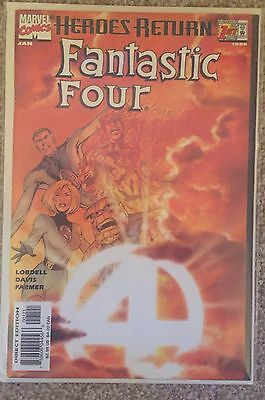 FANTASTIC FOUR #1 (1998)..SUNBURST VARIANT..NM unread 1st print..RARE