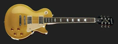 Epiphone By Gibson Les Paul Standard Metallic Gold Top ,nuova!