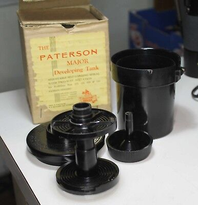 Paterson Major Developing Tank, circa 1949, for films 127, 120, 620 & 116