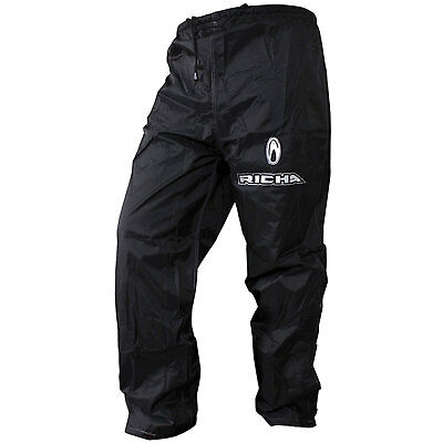 Richa Rain Warrior Motorcycle Waterproof Over Trousers Motorbike Bike Pants