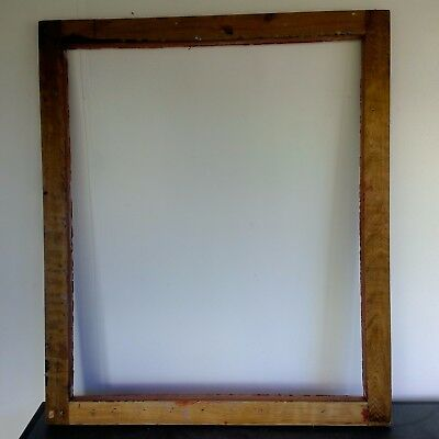 Cedar Silk Screen Frame - Used