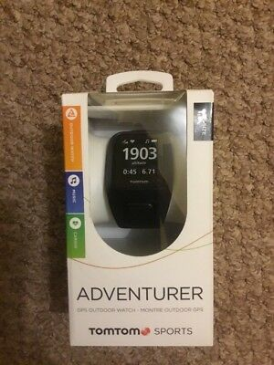 Tomtom Adventurer Sports Watch GPS Cardio Music One Size Sealed