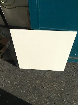 Lot of suspended ceiling tiles - 100 pieces - 60 x 60 white - NO RESERVE