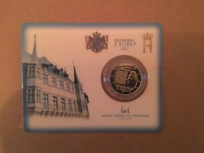 Coincard 2 Euro Luxembourg Annee 2013