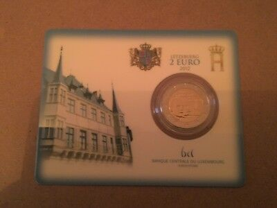 Coincard 2 Euro Luxembourg Annee 2012