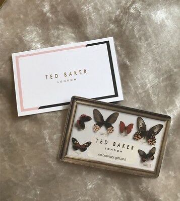 TED BAKER £50 Gift Card Voucher Store Credit