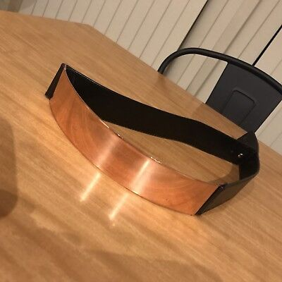 Green With Envy 100% Leather Belt With Rose Gold Band