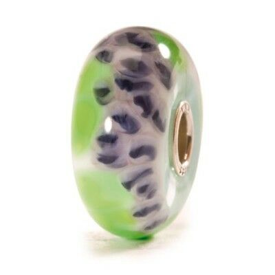 Trollbeads original authentic  bead RITIRATO vetro glass GLICINE 61347