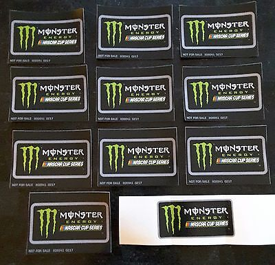Monster Energy Nascar Cup Series Decals 10 Stickers