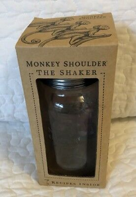 Monkey Shoulder Collectible Cocktail Shaker