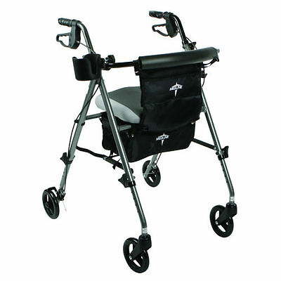 Medline Excel Deluxe Rolling Walker