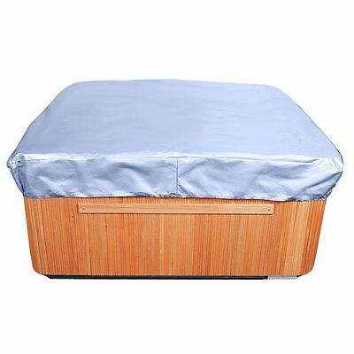 "Spa Cover Square Hot Tub Cover, Slate Blue 14"" High x 86"" Wide x 86"" Long"