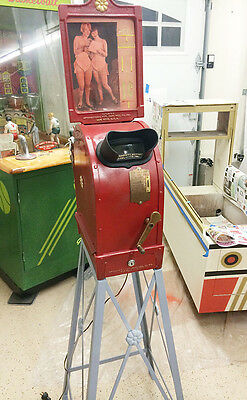 Mutoscope Big Head Movie Peep Show Arcade Machine Reproduction Stand Only