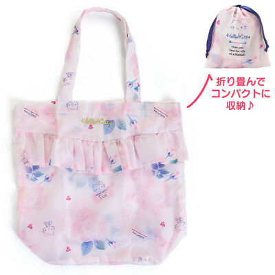 9445b89add5d Hello Kitty Shopping Eco Tote Bag Girly Travel Sanrio Japan