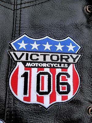Victory Motorcycle 106 Patch for Motorcycle Jackets
