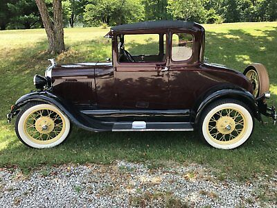 1929 Ford Model A coupe Ford Model A