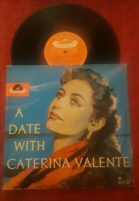 """A Date with Caterina Valente Polydor Medium Play 10"""""""