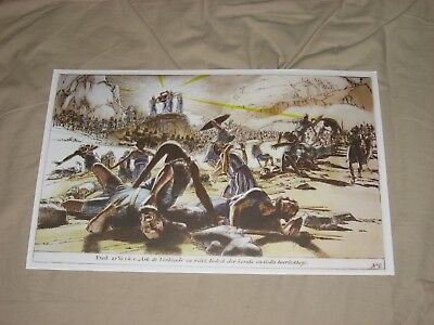 RAIDERS OF THE LOST ARK PRINT MINT cond....RARE ITEM /free US/CAN ship