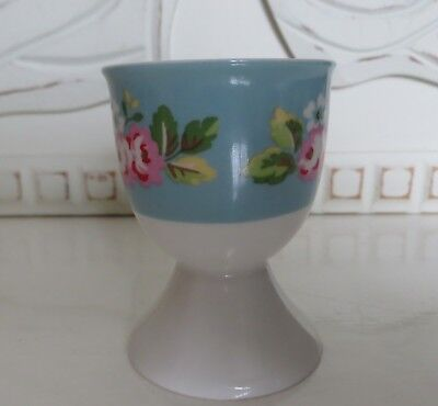 CATH KIDSTON FLORAL EGG CUP Blue & White