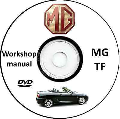 Manuale Officina,Workshop Manual MG TF